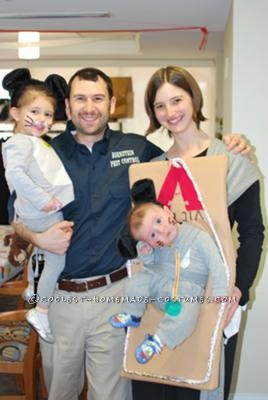 Coolest Pest Control Family Costume