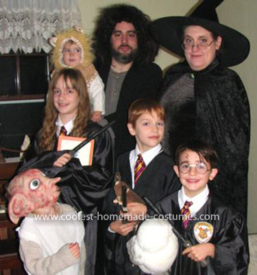 Coolest Harry Potter Family Costume