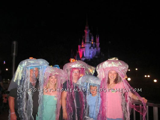Coolest Homemade Jellyfish Group Costume