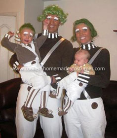 Coolest Oompa Loompa Family Costume