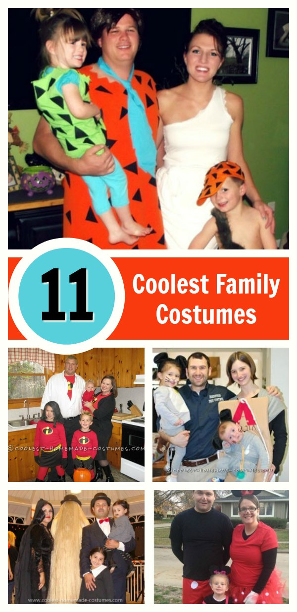 Top 11 DIY Family Halloween Costume Ideas on a Budget