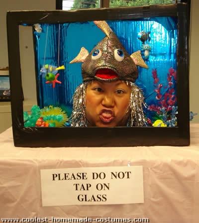 Coolest homemade aquarium and fish bowl costumes aquarium costume solutioingenieria Gallery