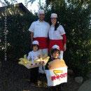 Food Commercials Costumes