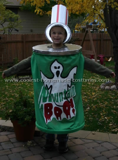 Soft Drink Costume