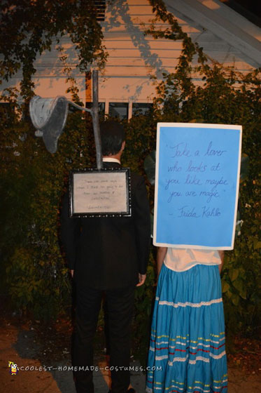 Frida Kahlo and Salvador Dali Couple Costume