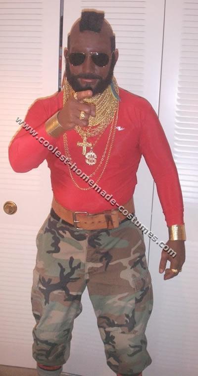 Mr. T Funny Costume Idea