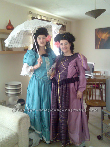 Rubbish Transvestites from Little Britain: Emily Howard and Florence Couple Costume