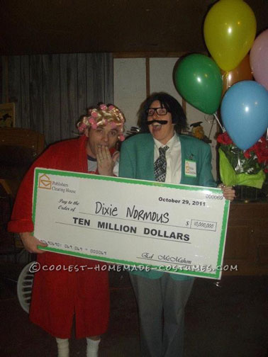 Coolest Publisher's Clearinghouse Prize Patrol Couple Costume