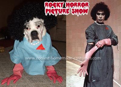 Coolest Canine Dr Frank-N-Furter Costume