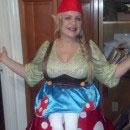 Gnome on Toadstool Illusion Costumes