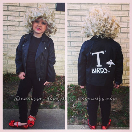 Grease's Sandy Costume for a Girl