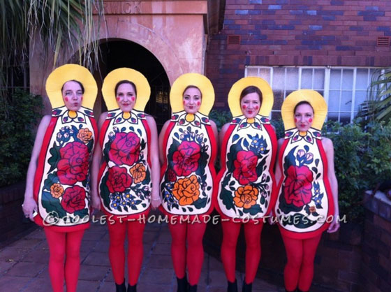 Matryoshka/Russian Nesting Dolls Group Costume