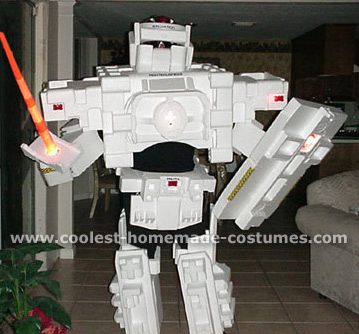 Transformers Halloween Costume