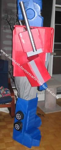 Optimus Prime Transformers Halloween Costume