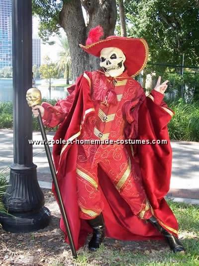 Homemade Halloween Costume Pattern - Phantom of the Opera