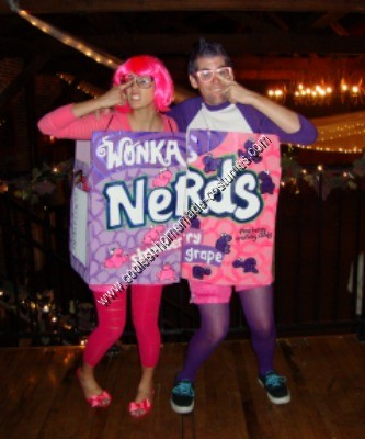 Coolest Homemade Nerds Box Costume