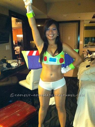 DIY Sexy Buzz Lightyear Costume