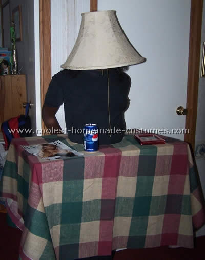 Homemade Lamp Shade Costume