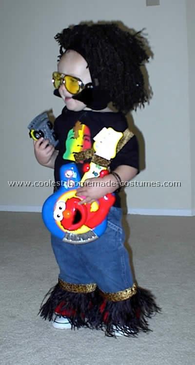 Rockers Costume & Coolest Homemade Rocker Costumes