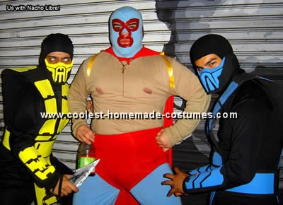 Mortal Combat Homemade Costume Idea