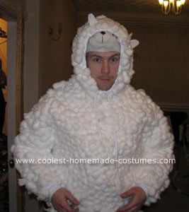 Homemade Sheep Costume that Caught Fire