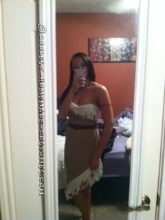 Cool Homemade Pocahontas Costume