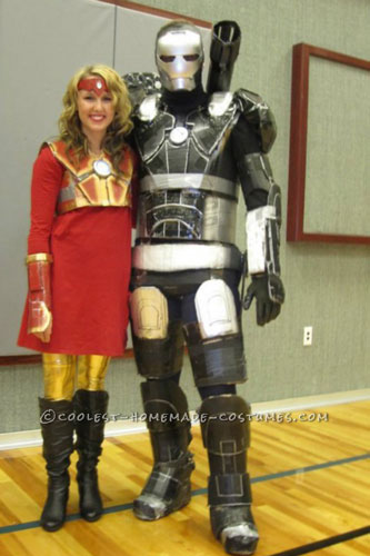 Coolest War Machine Ironman Costume