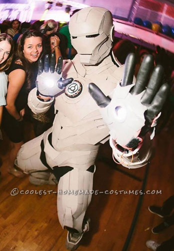 Coolest DIY Ironman Costume