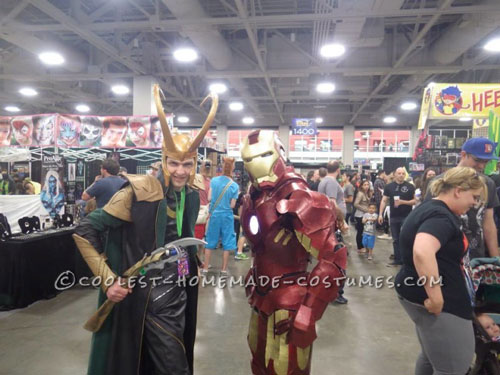 Awesome Homemade Ironman Costume