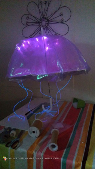 Bio-Luminescent Jellyfish Costume