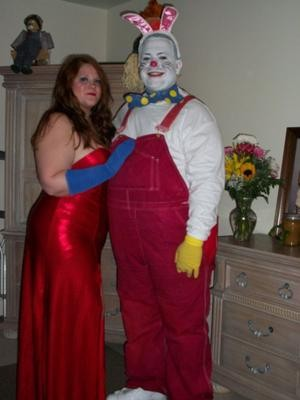 Coolest Jessica and Roger Rabbit Couple Costume