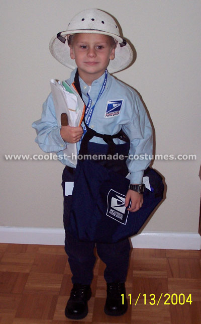 Mailman Kid Halloween Costume