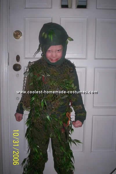 Kids Halloween Costume - Monster