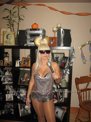 Best Lady Gaga Bow-Tie Hair Inspired Costume