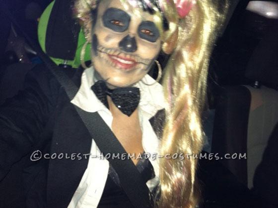 Cool Lady Gaga Born This Way Skeleton Costume