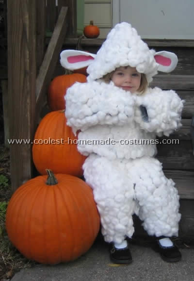 Adult animal costume sheep pity, that