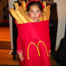 Hamburger and Fries Costumes