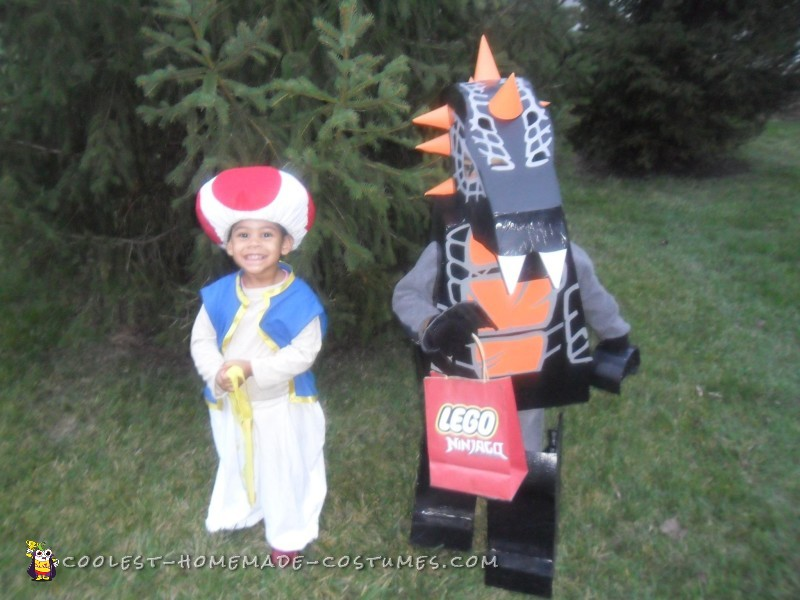 DIY Bytar Ninjago Lego Costume – Not Found in Stores!
