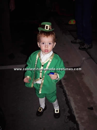 Homemade Leprechaun Costume