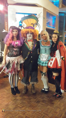 Contest-Winning Mad Hatter Costume