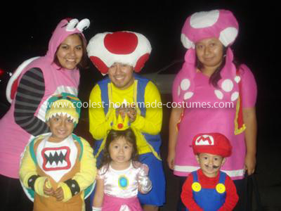 Make Your Own Mario Bros and Friends Costumes