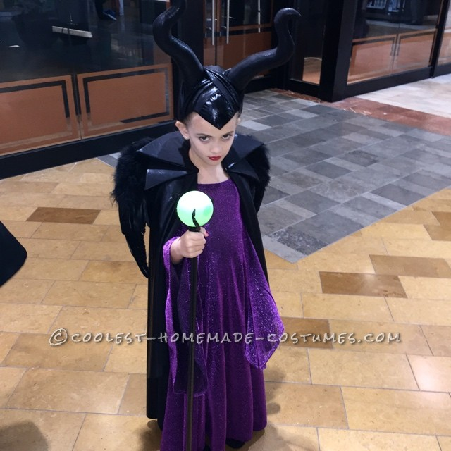 Full Maleficent Costume shot with another Pose