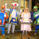 Mario Brothers Couples and Groups Costumes