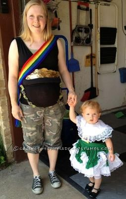 Coolest Pot of Gold Maternity Halloween Costumes