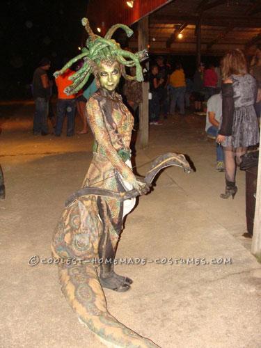 Coolest Medusa Costumes Diy