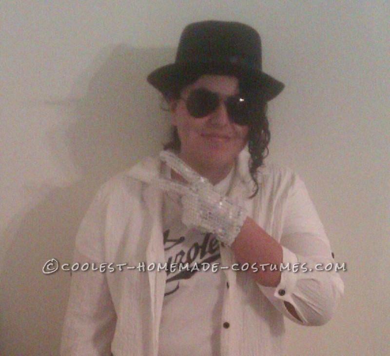 Homemade Michael Jackson Inspired Costume