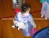 Homemade Monsters Inc. Boo Costume