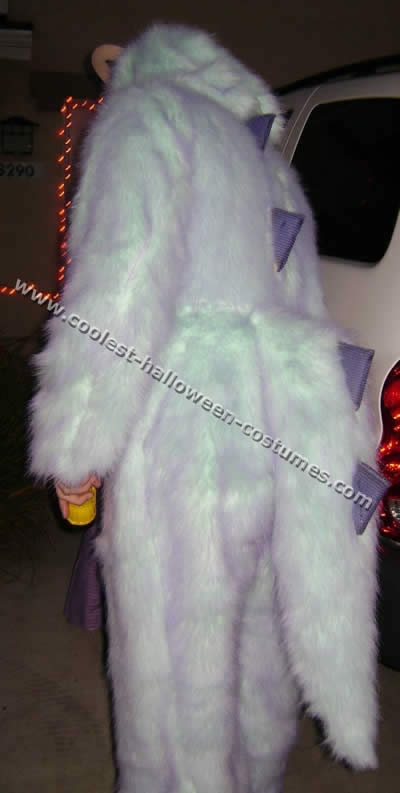 Homemade Monsters Inc. Costume