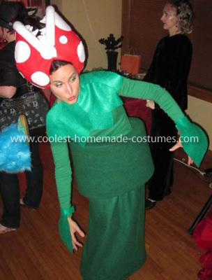 Coolest Piranha Plant from Mario Bros Costume