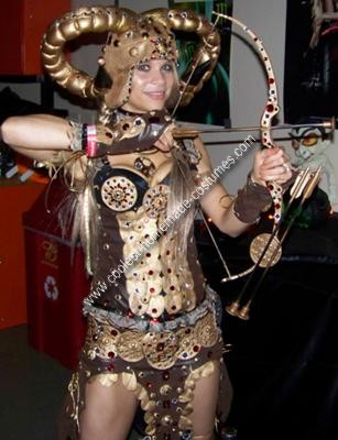 Coolest Homemade Fantasy Warrior Chic Costume